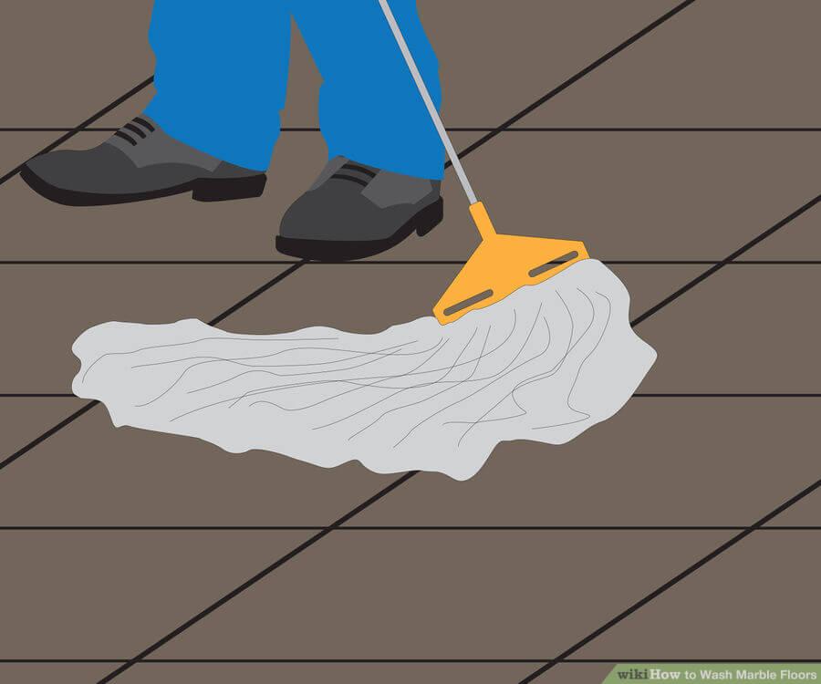 Βήμα 3: Χρησιμοποιήστε κανονικά την σφουγγαρίστρα σας και πλύνετε ως συνήθως. Χρησιμοποιήστε επικαλυπτόμενες μικρές κινήσεις σε ένα ρυθμικό τρόπο.