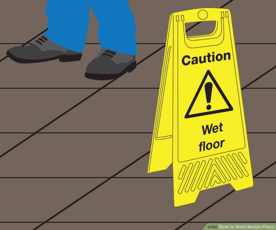 Βήμα 4: Αφήστε το πάτωμα να στεγνώσει απο τον αέρα
